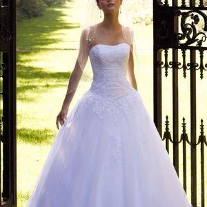David's Bridal Ballgown wedding dress